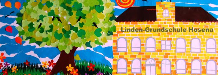 Zeichnung der Linden-Grundschule Hosena als Schülerarbeit unter der Leitung von Frau Birgit Schmidt